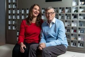 比尔盖茨离婚今年1月曾视频连线同框盘点两人甜蜜过往(组图)
